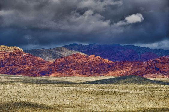 Clouds and Colors of Mojave