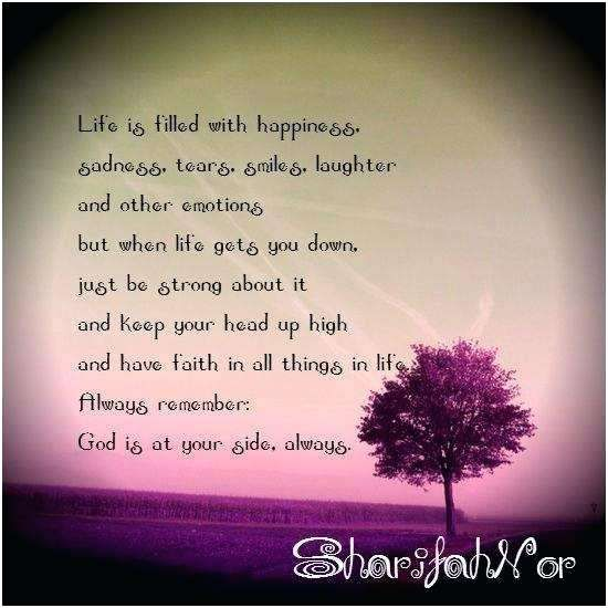 inspirational when life gets you down quotes or tears are ...