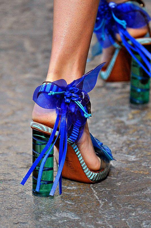 Missoni S/S12 heels