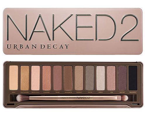 """""""Naked2"""" neutral palette by Urban Decay"""