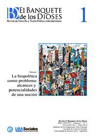 Revista de Filosofía y Teoría Política contemporáneas semestral dirigida por Marcelo Raffin. Editada desde 2013.