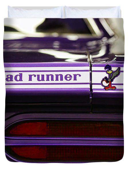 Road Runner 1970 Duvet Cover by Gordon Dean II