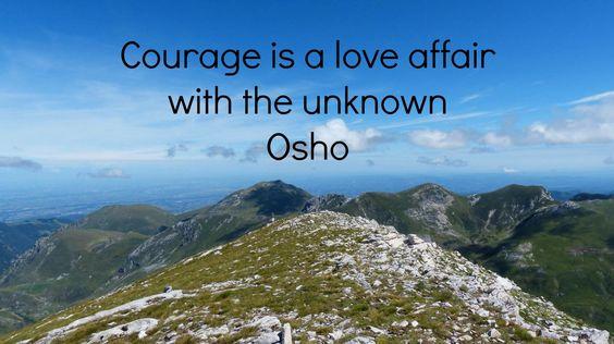 Courage moed