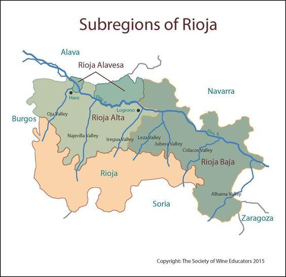 Rioja #wine #wineeducation