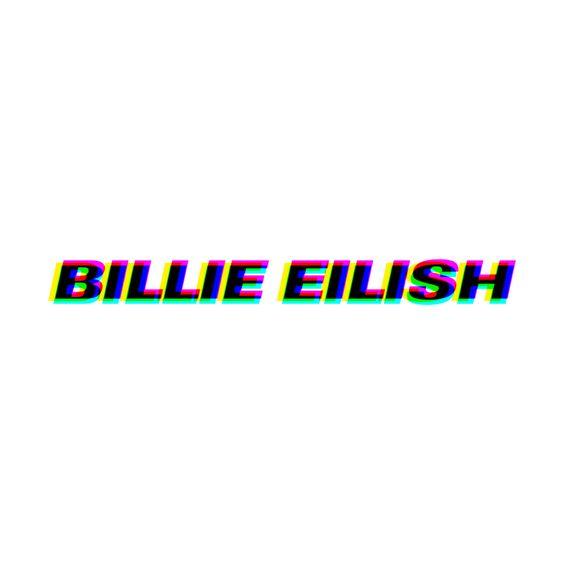 Billie Eilish Pop Art Logo Hassett Productions Merch Billie Eilish Billie Photo Wall Collage