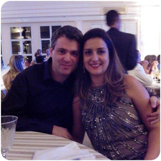 Com Adolfo Rodrigues Pilego, meu marido, no evento Circuito Decor Jundiaí - Destaques 2013, em 31 de janeiro de 2014.no Espaço Monte Castelo