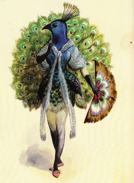 Vintage Mardi Gras costume sketch....this is it!! The most beautiful & unique costume! Now I need to piece it together!!