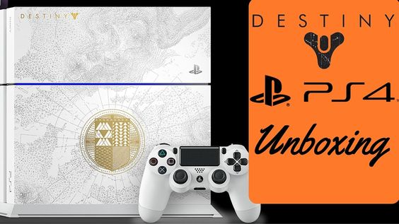 Destiny The Taken King Legendary Edition PS4 Unboxing - LIMITED EDITION WHITE PS4