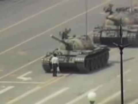 The Story Behind The Iconic Tank Man Tiananmen Square Photo