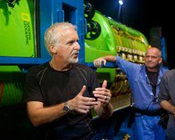deepsea challenger vessel partners with director james cameron - wins award