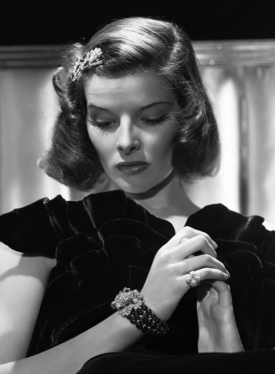 """Katharine Hepburn for """"Holiday"""" (1938) photo by George Hurrell"""