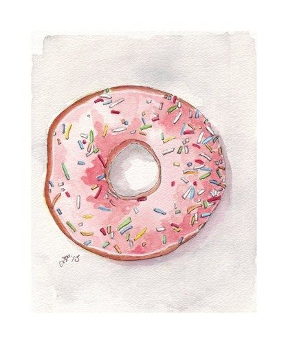 pink_donut_original_watercolor_painting_doughnut_with_pink_frosting_and_sprinkles_still_life_original_watercolor_6x8_0d83d875.jpg 419×500 pi...