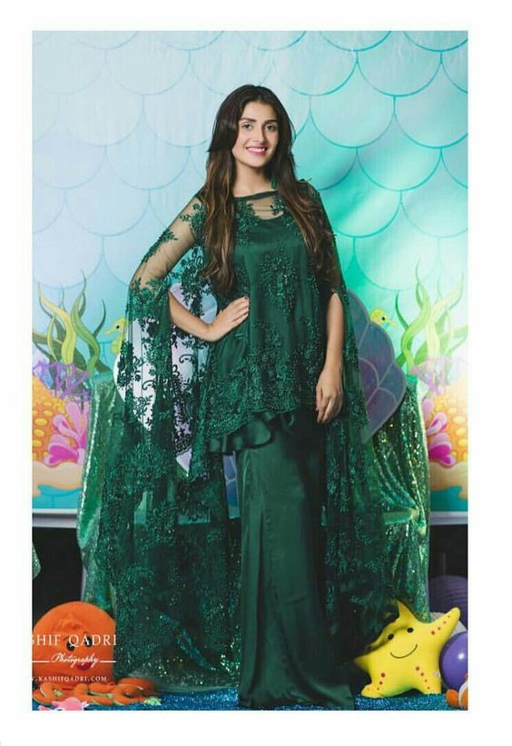 Stitching Styles Of Pakistani Dresses Green Peplum Frock