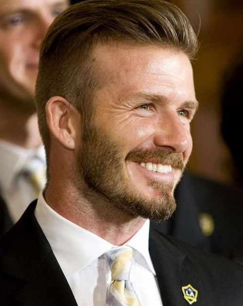 Pleasant David Beckham New Hairstyles And Hairstyles On Pinterest Hairstyles For Women Draintrainus