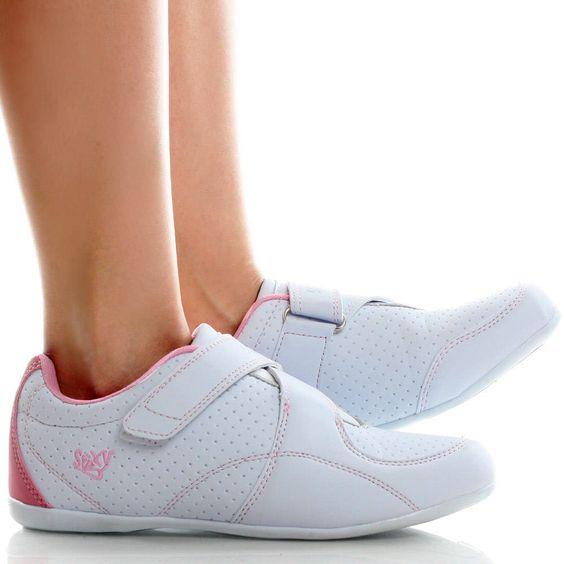 Womens White Velcro Shoes