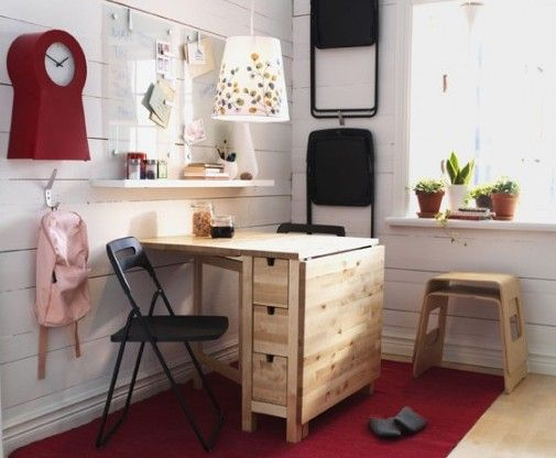 Mesa norden ikea mesa plegable mesa multifuncional mesa for Muebles cocina pequenos espacios