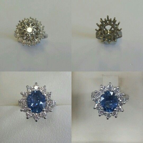 Turning old ring to new stunning style