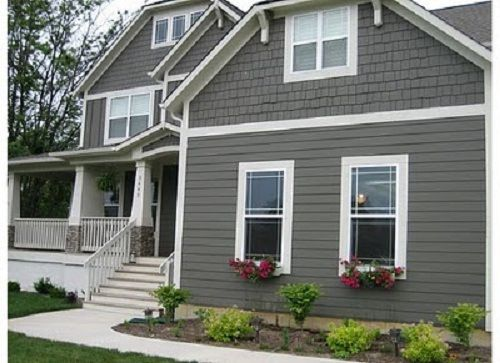 Best Exterior House Colors Grey I Would Like The Grey White 400 x 300
