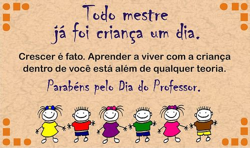 Dia Do Professor Dia Dos Professores 15 De Outubro Cartoes