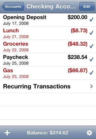 money tracking app iphone