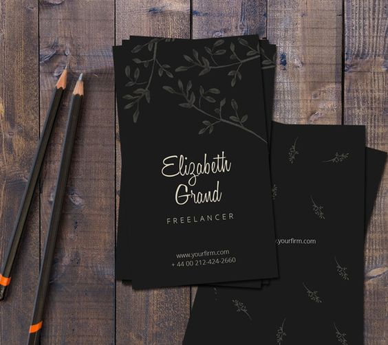 Gorgeous Business Card by Webvilla on Creative Market [Ad]