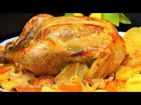 Pollo Relleno Delicioso Y Fácil Recetas En Casayfamiliatv Youtube Pollo Relleno Al Horno Receta Pollo Relleno Receta Pollo Entero Al Horno
