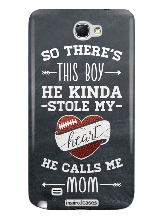 So There's This Boy... Football Player Case for Galaxy Note 2