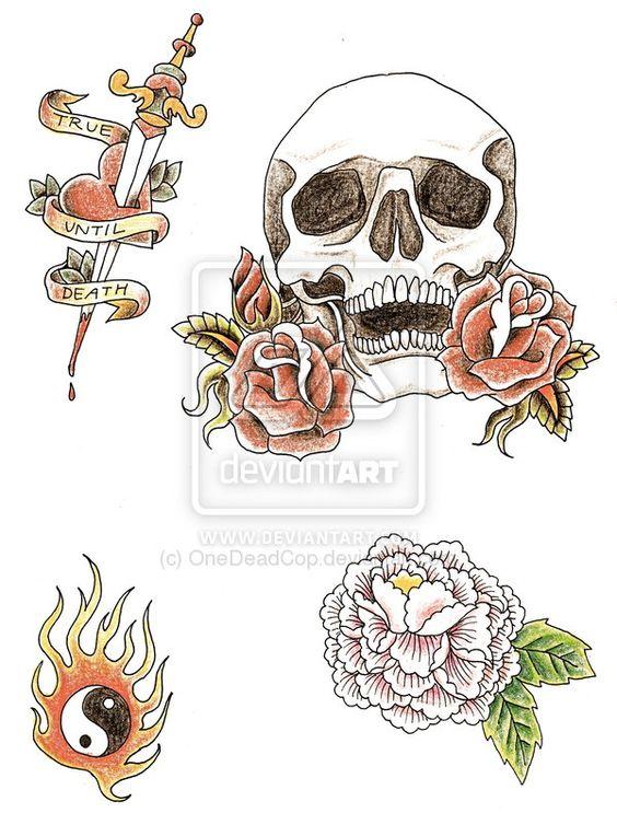 tattoo designs by OneDeadCop.deviantart.com on @deviantART ...