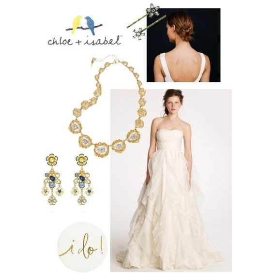 It's your wedding day, first yourself  with fabulous jewels from c&i.