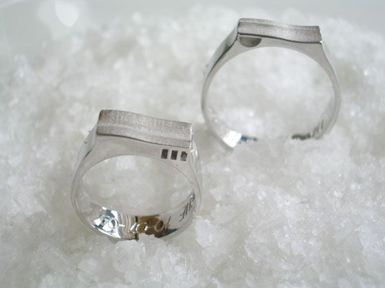 ED Wedding Rings by A.Leonardo #jewelry #jewels #wedding #ring #design #gold #whitegold #goldsmith