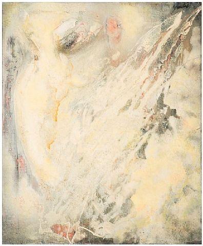 artnet Galleries: Snow owl by Paul Jenkins from Galerie Diane De Polignac