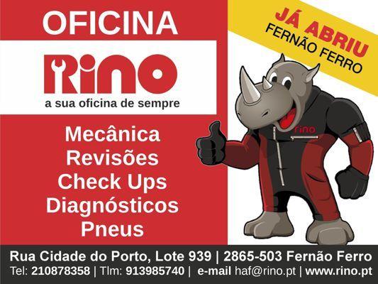 FlipSnack | Oficina Automóvel Rino Fernão Ferro by Helder Francisco