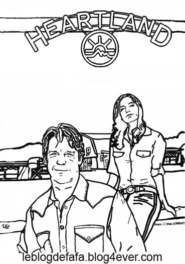 heartland coloring pages yes heartland