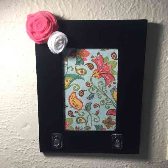A personal favorite from my Etsy shop https://www.etsy.com/listing/245649618/picture-frame-key-holder