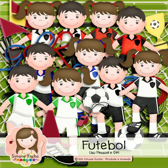 Kit Digital Futebol by Simone Rocha