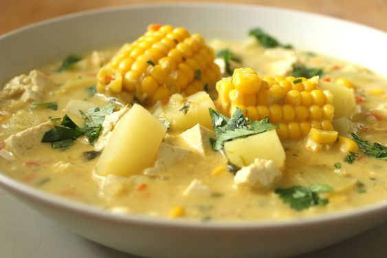 """Chupe"": Vegan Corn and Potato Chowder:"
