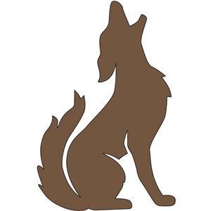 Silhouette Design Store - Ansicht Entwurf # 11413: Kojoten heulen