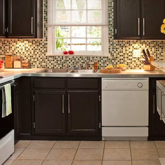 50 nifty fix ups for less than 100 the old cabinets for Kitchen cabinets 4 less