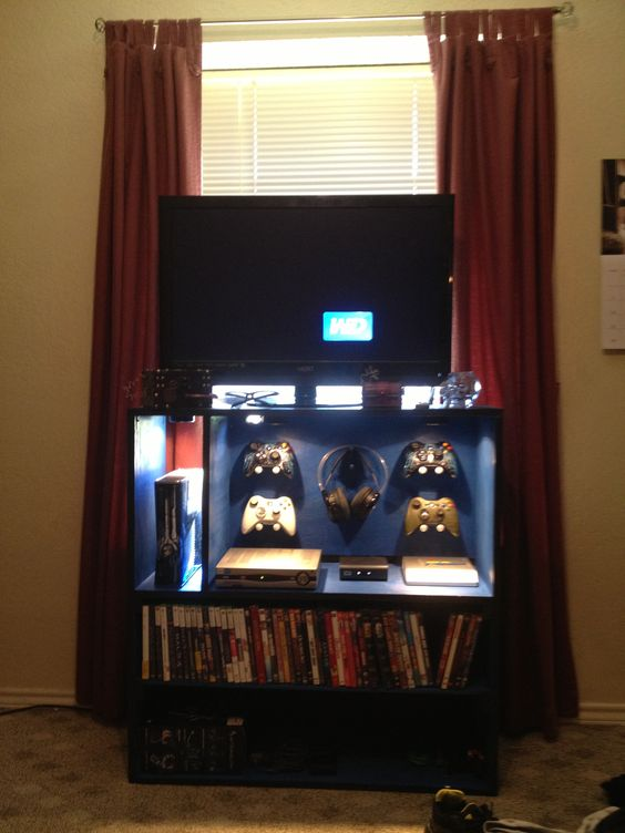 Home Xbox And Storage On Pinterest