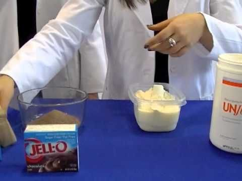 High Protein Chocolate Jello Pudding