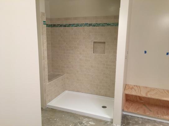 Dreamline Slimline 30 In D X 60 In W Single Threshold Shower Base In White Dlt 1130601 The Home Depot Shower Base Dreamline Bathroom Style