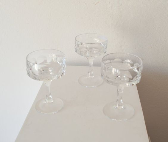 1950's Mad Men Style Set of 3 Vintage by ZenVintageCollection