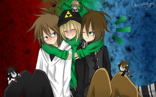 Jeff the killer - ben drowned - homicidal liu