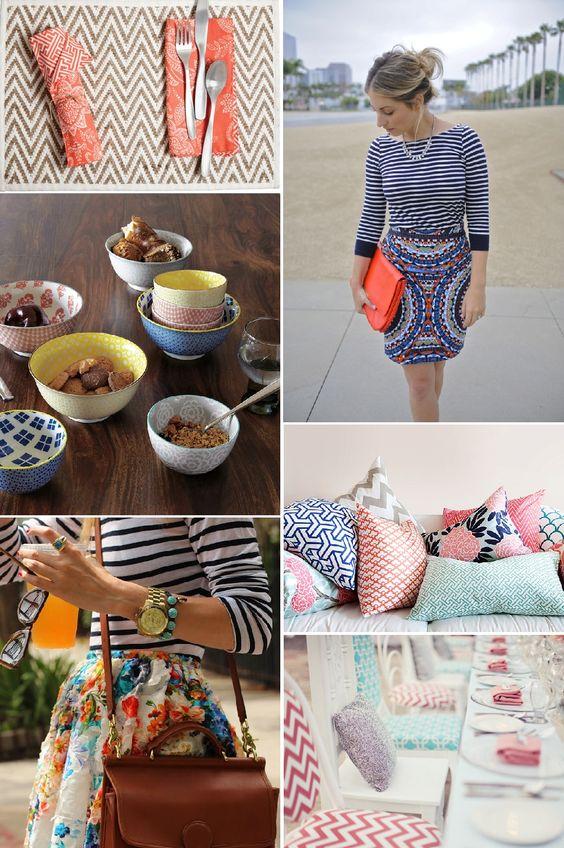 Mixed Patterns :: Inspiration-Juniper and Dash