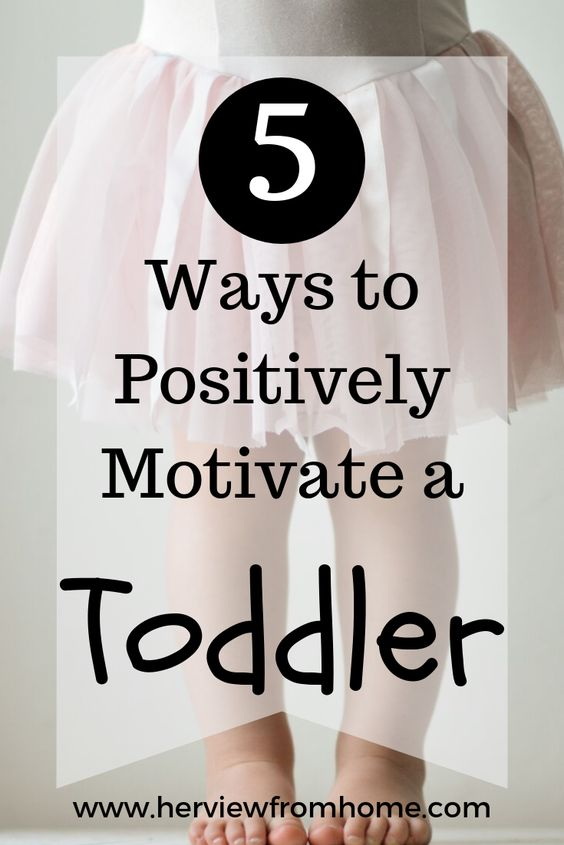 Toddlers aren't all terrible! Parents just need to learn the art of the outsmart. Here are 5 ways to positively motivate a toddler.