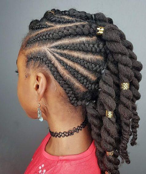 Nette 20 Cornrows Fur Kinder Frisuren Frisuren Kinder Haar Und