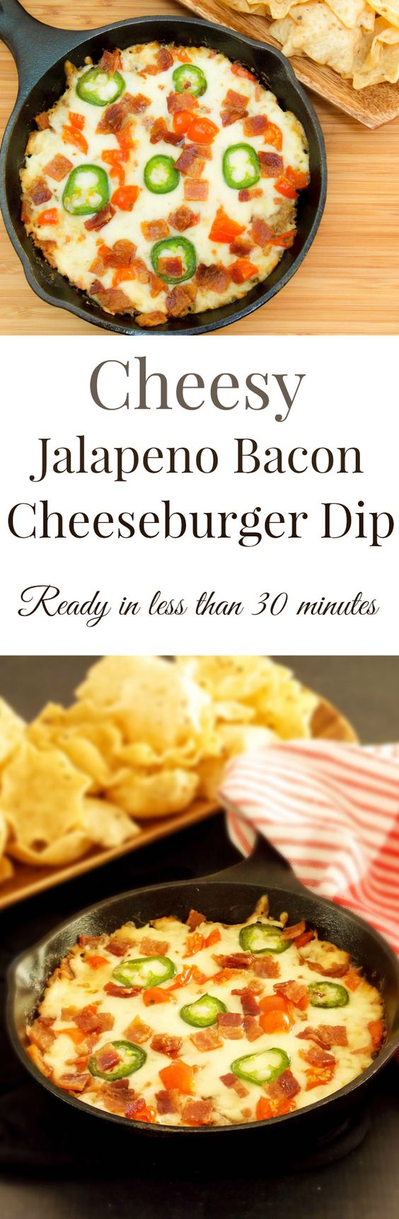 gooey cheeseburger dip recipes dishmaps gooey cheeseburger dip ...