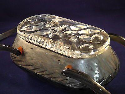 Vintage Lucite Purse, Original Rialto, Gray Pearloid