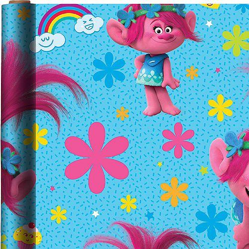 TROLLS Personalised Gift Wrap Princess Poppy Trolls Wrapping Paper Trolls