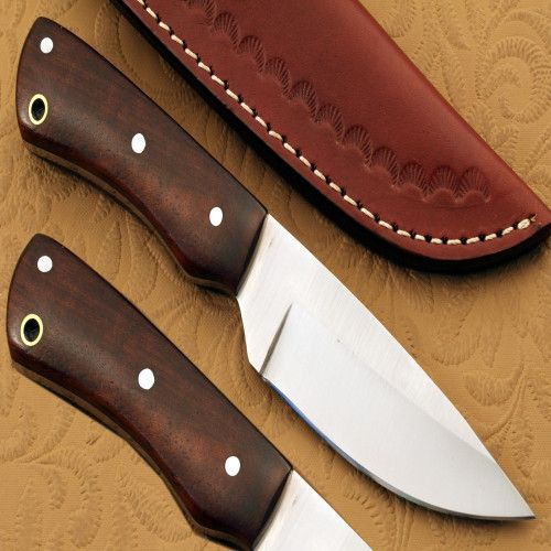 8 Inches Hand Made Sharp Steel Knife With Leather Sheath Jn1712 Knife 1095 Steel Pocket Knife